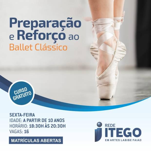 preparaçãoe reforço do ballet clássico